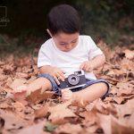 sesión de fotos infantil en exterior
