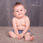 fotos de bebé 8 meses