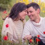 sesión de fotos de pareja en exterior en Barcelona