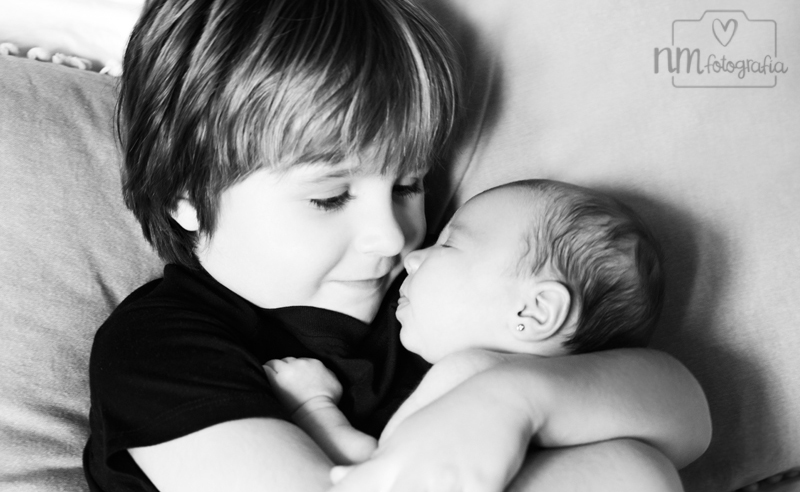sesión de fotos de recién nacida a domcilio