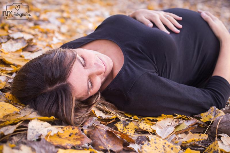 Foto-embarazada-otono-nmfotografia