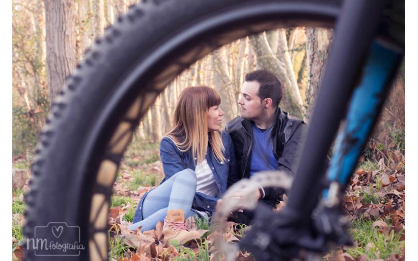 sesión de fotos de pareja en exterior